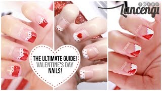 nail art for beginners 20 no tools valentines day french manicures