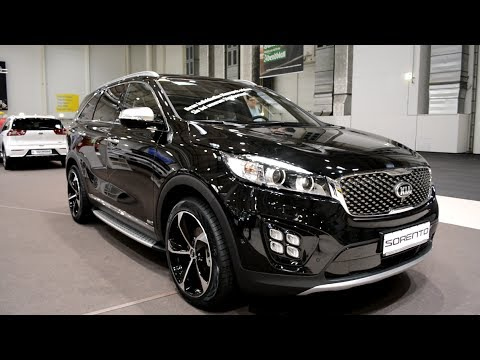 2017 new kia sorento exterior and interior youtube. Black Bedroom Furniture Sets. Home Design Ideas