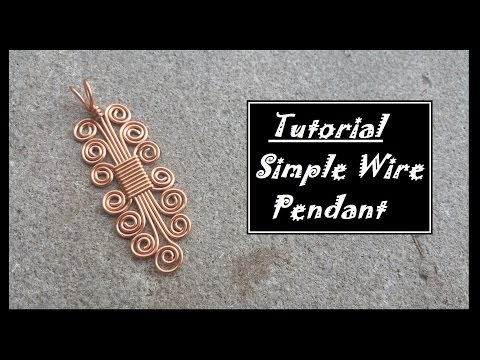 Simple Wire Pendant