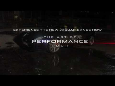 The art of performance tour - Skid Test - Jaguar Brunei