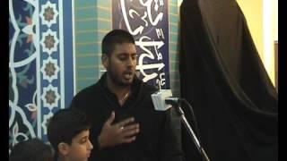 """Husein Virji reciting """"Ye janaza hai Ali ka"""""""