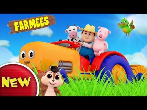 Tractor Song | Nursery Rhymes | Kids Songs | Baby Rhymes by Farmees