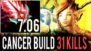 OMFG WTF IS THIS? Cancer Critical Build 7.06 Enchantress by Chessie Ranked 8k MMR Gameplay - Dota 2