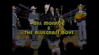 Bill Monroe and the Bluegrass Boys on Austin City Limits in 1981