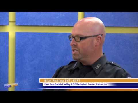 CCN Sunrise Spotlight - EMT Training at East San Gabriel Valley ROP