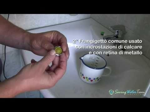 Test comparativo tra frangigetto e riduttori di flusso aerati