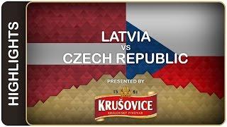 Czechs take thriller thanks to Lukas Kaspar | Latvia-Czech Republic HL | #IIHFWorlds 2016