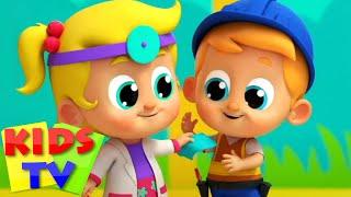 Песня доктора Дошкольные видео Детские стишки Kids Tv Russia развивающий мультфильм
