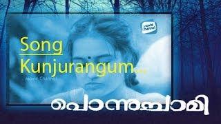 KUNJURANGUM   PONNUCHAMI   Old Malayalam Movie Video Song   Mohan Sithara   Suresh Gopi