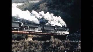 伯備線 D51 三重連 1972年2月撮影 Steam loco  Three sets Connection