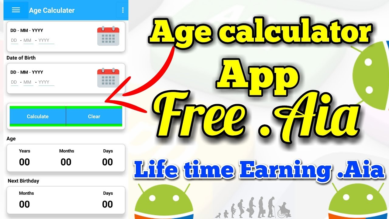 life time earning app free aia age calculator app free aia