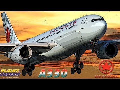 AIR CANADA A330 To Brussels/Frankfurt