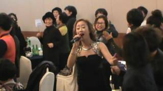 공산농협주부대학총동창회 송년의밤 3부....가수 최 지현  수리수리술술