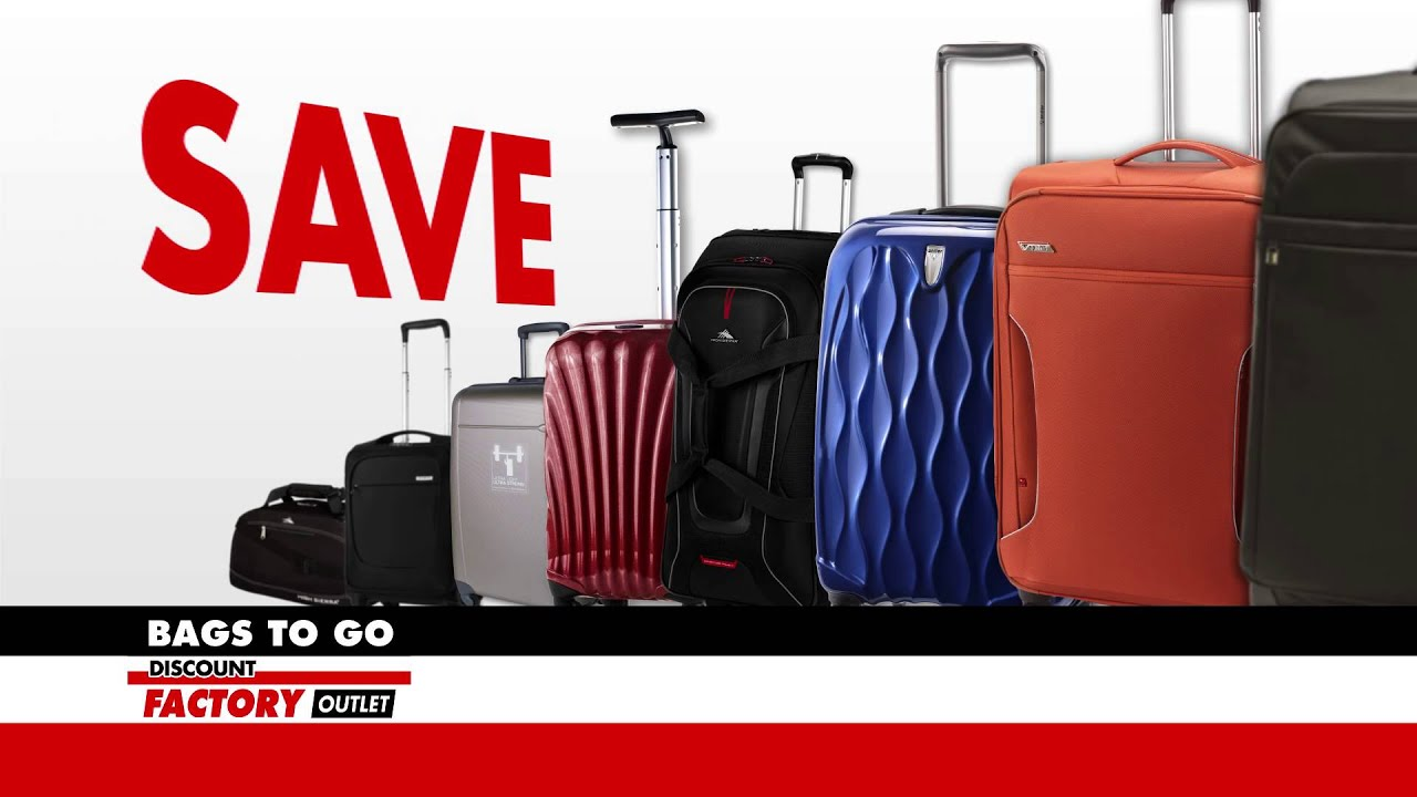 Nimic Productions - Bags to Go Travel Luggage Sale Commercial ...