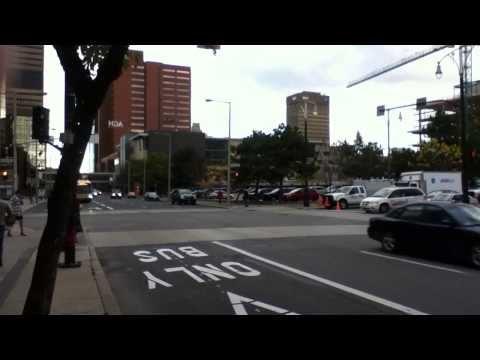"""Downtown Hamilton, Ontario - """"Traffic Chaos"""""""