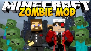Minecraft Zombie Mod - Атака зомби - Mini-game