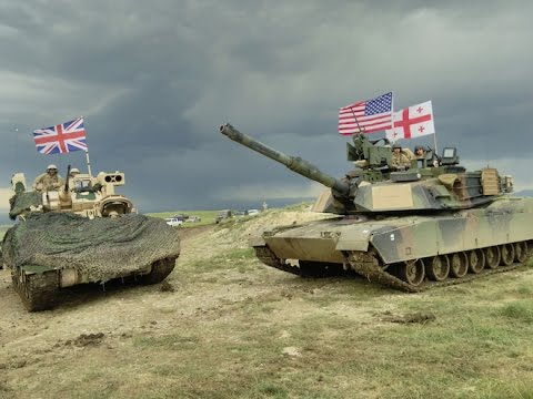 Georgia - U.S. - UK joint military training in Tbilisi - Noble Partner 2016