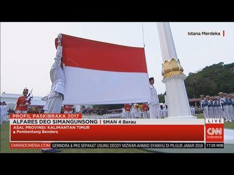 Saat Ini! Penurunan Sang Saka Merah Putih - Merdeka dalam Bhinneka