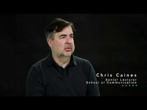 Chris Caines - Media Arts and Production at UTS