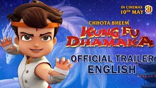 Chhota Bheem Kung Fu Dhamaka Trailer - English | In Cinemas 10 May