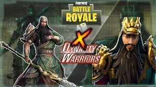 FORTNITE AND DYNASTY WARRIORS HAVE FINALLY CLASHED TOGETHER NEW GUAN YU SKIN
