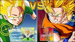 DATRUTHDT VS. JPHANTA! THE BIGGEST WHALE VS. THE BIGGEST F2P PLAYER! (DBZ: Dokkan Battle)