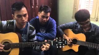bức tranh từ nước mắt - guitar cover - 3some boys