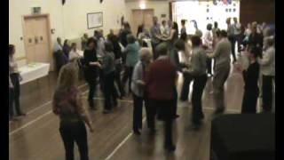 welsh folk dancing rhwng ddwy at dinas powys with the pluck squeeze band