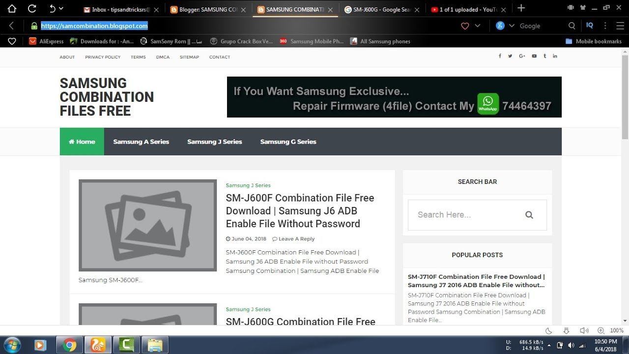 Samsung Combination File Free Download Without Password