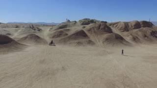 Ocotillo Wells Pole Line Step-up - Phantom3 Drone