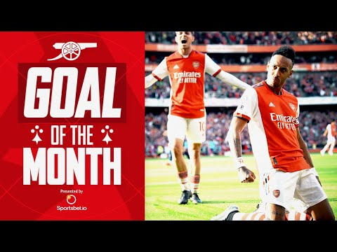 Who scored Arsenal's best goal in September?  |  Aubameyang, Mead, Odegaard, Miedema and more