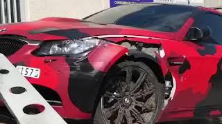 BMW M3 | GMK MONACO | CRASH ACCIDENT |