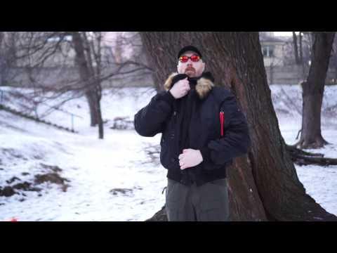 Видео обзор куртки зимней Аляска укороченная N-2B Black от «Chameleon».