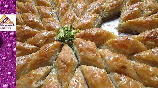 El Açması Baklava Tarifi, En Güzel Nasıl Yapılır? Yıldız Kesim Pratik Yemek Tarifleri