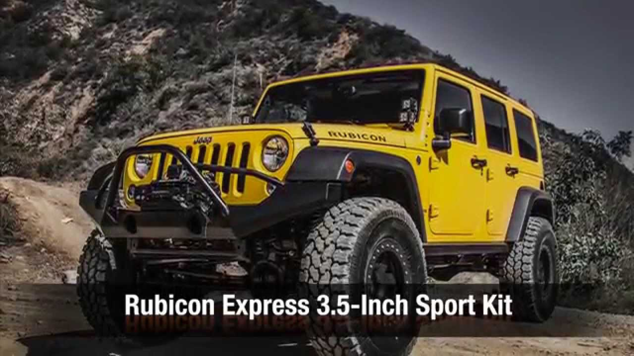 Rubicon Express 3 5 Inch Sport Kit Youtube