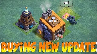 BUYING NEW UPDATE!!! | Clash Of Clans | BH8 & MORE!!!