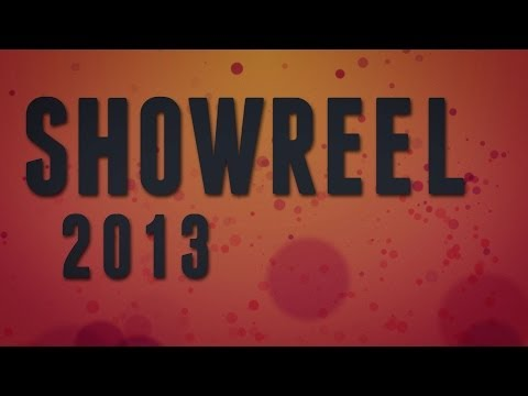 motion graphics - ShowReel 2013
