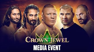 WWE Crown Jewel Media Event
