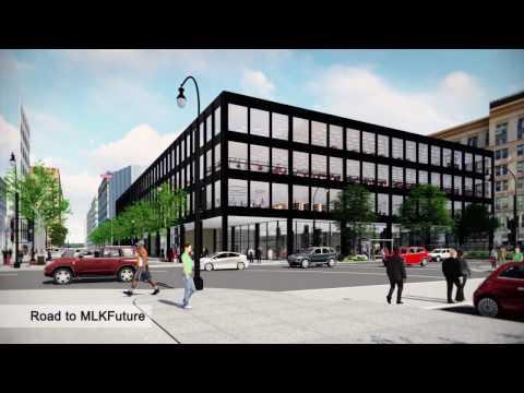 MLK Library Modernization Final Designs Fly Thru Video