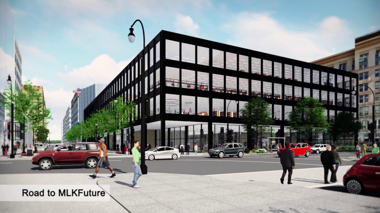 Transformation of the Martin Luther King Jr  Memorial Library