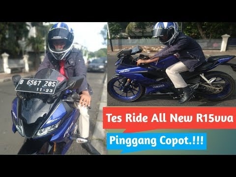 Riview & Tes Ride All New R15vva V3.  PEGAL..????
