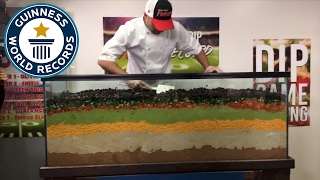 World's largest layered dip  - Guinness World Records
