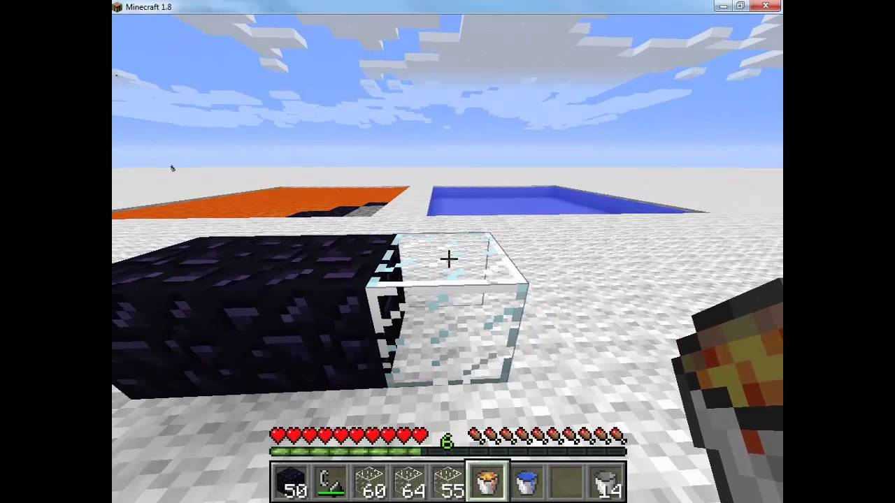 how to make a nether portal without obsidian