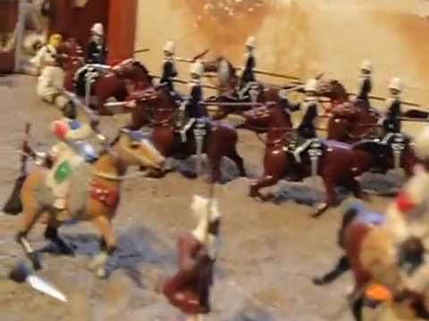 Diorama Sudan Wars - Khartoum 1885 - YouTube Video
