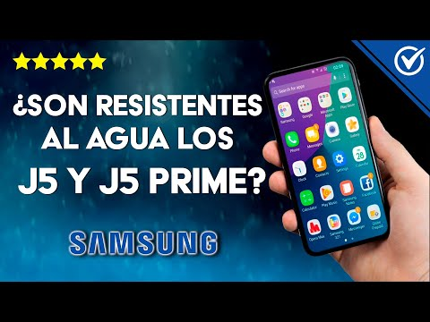 ¿Los Samsung Galaxy J5 y J5 Prime son Resistentes al Agua?