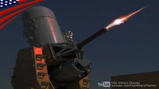 地上配備型ファランクス(C-RAM) 20mmガトリング砲発射! - Land-Based Phalanx (LPWS, C-RAM) 20mm Gatling Gun Firing!