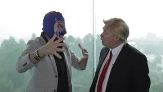 Donald Trump VS El Escorpion Dorado Al Volante
