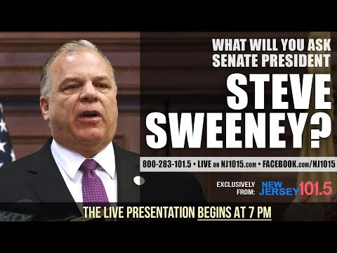 Ask the Senate President with Steve Sweeney  March 27, 2018