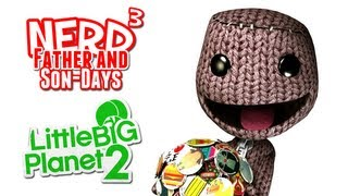 Nerd³'s Father and Son-Days - Build Stuff! LittleBigPlanet 2