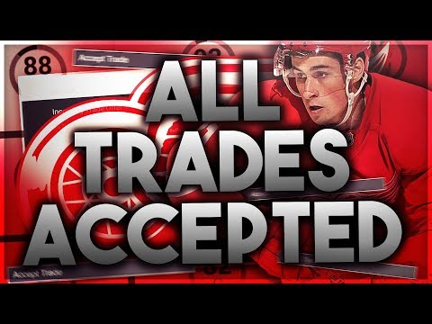 ACCEPTING ALL TRADES with the 2016-2017 DETROIT RED WINGS
